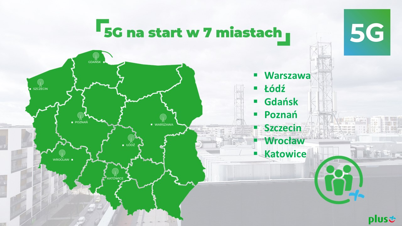 plus 5G w Polsce