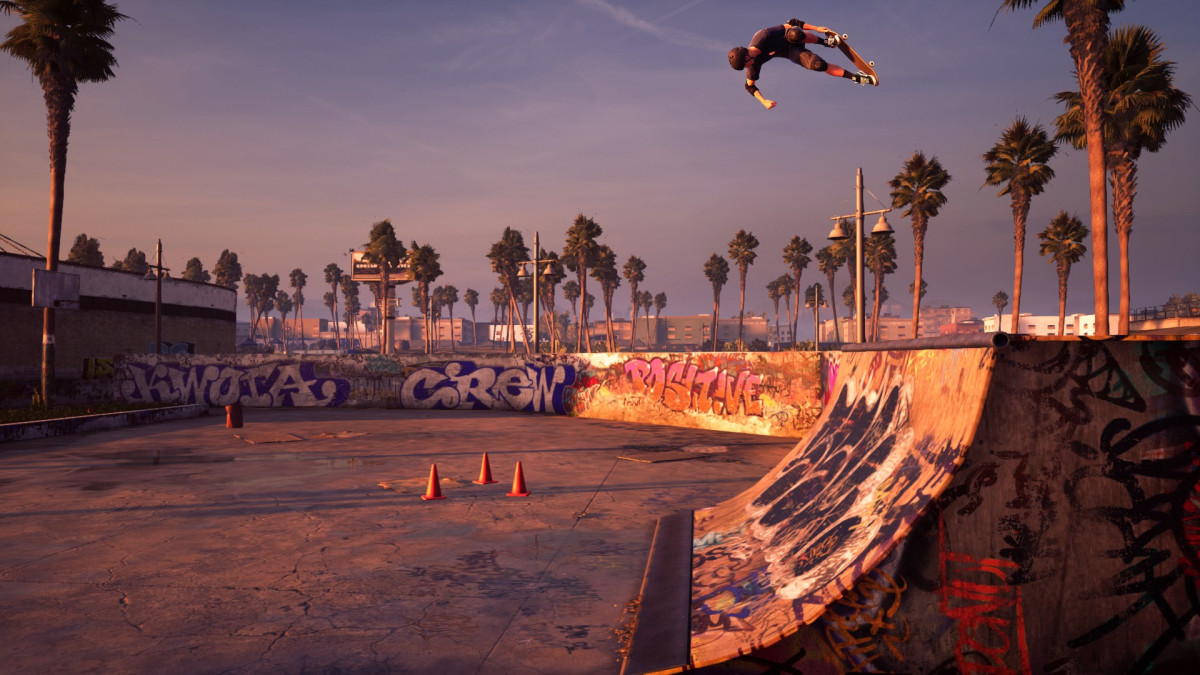 tony hawk's pro skater 1 and 2 remaster