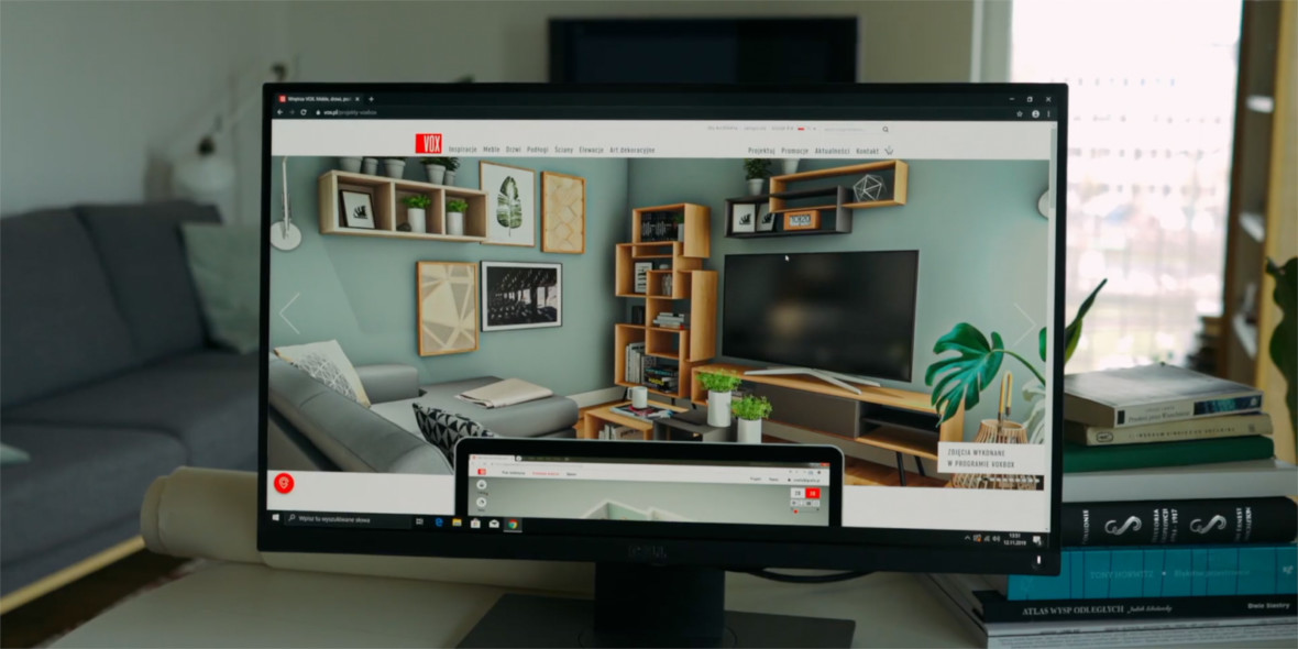 VOXBOX to The Sims w realu. Projektujesz w nim prawdziwe mieszkanie