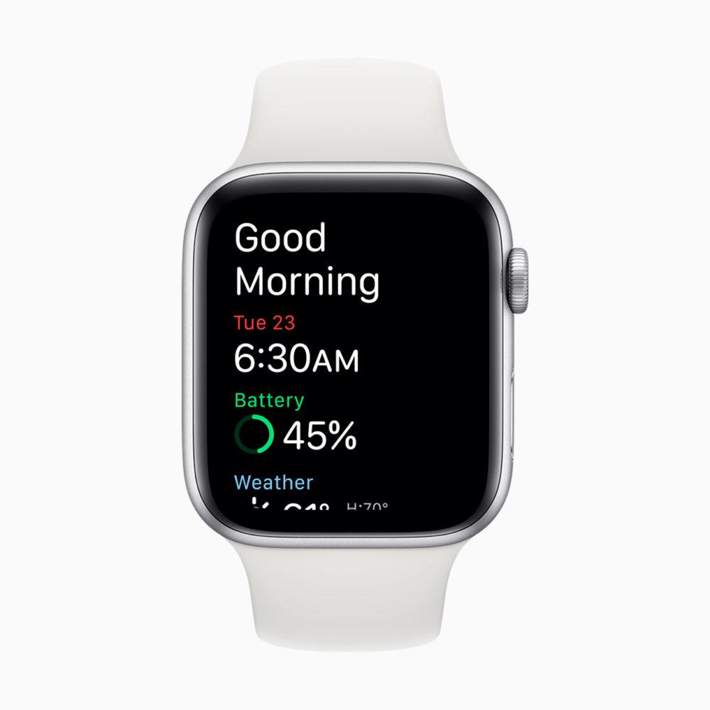 apple watch watchOS 7 wwdc 2020