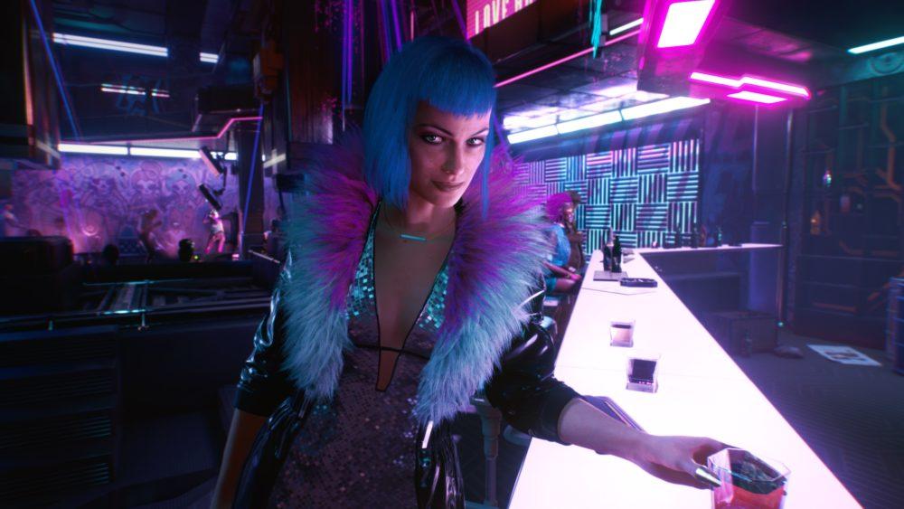 cyberpunk 2077 gameplay screenshot 12 my name is evelyn