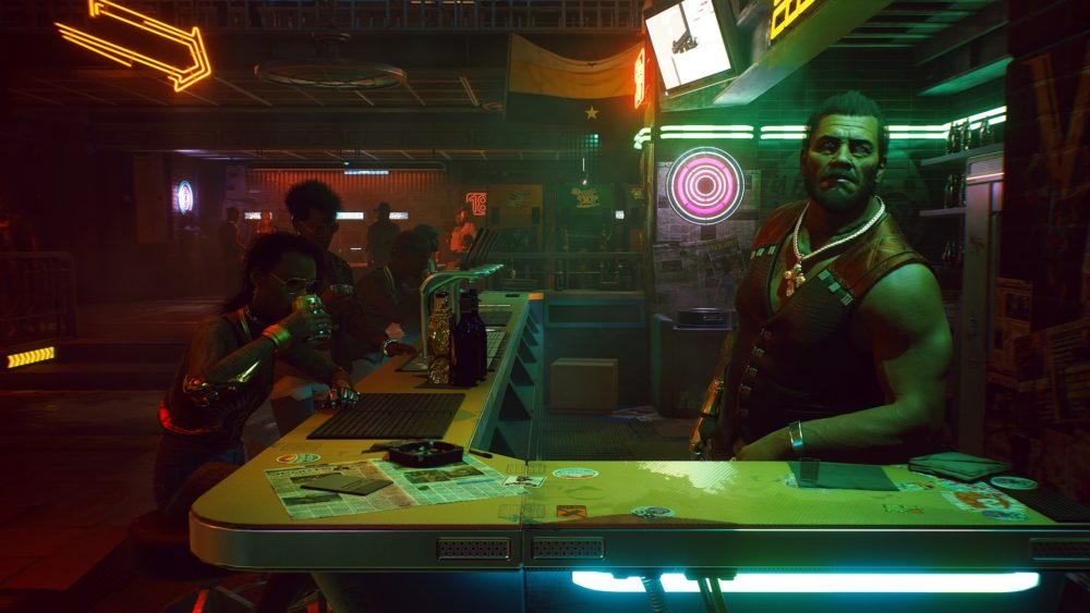 cyberpunk 2077 gameplay screenshot 18 what can i get you