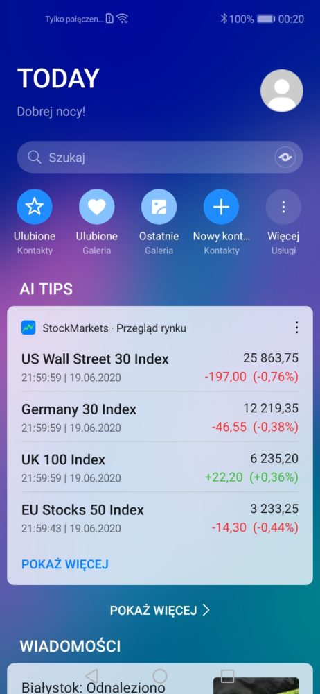 huawei-assistant-today-stocks