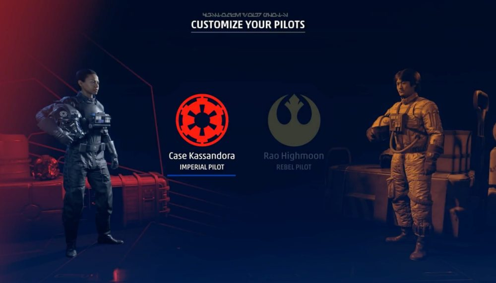 star wars squadrons gameplayer trailer ea play 2020