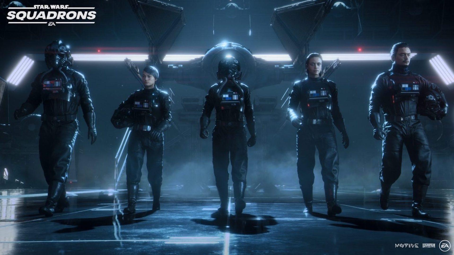 star wars squadrons gra eskadry trailer premiera ea gwiezdne wojny