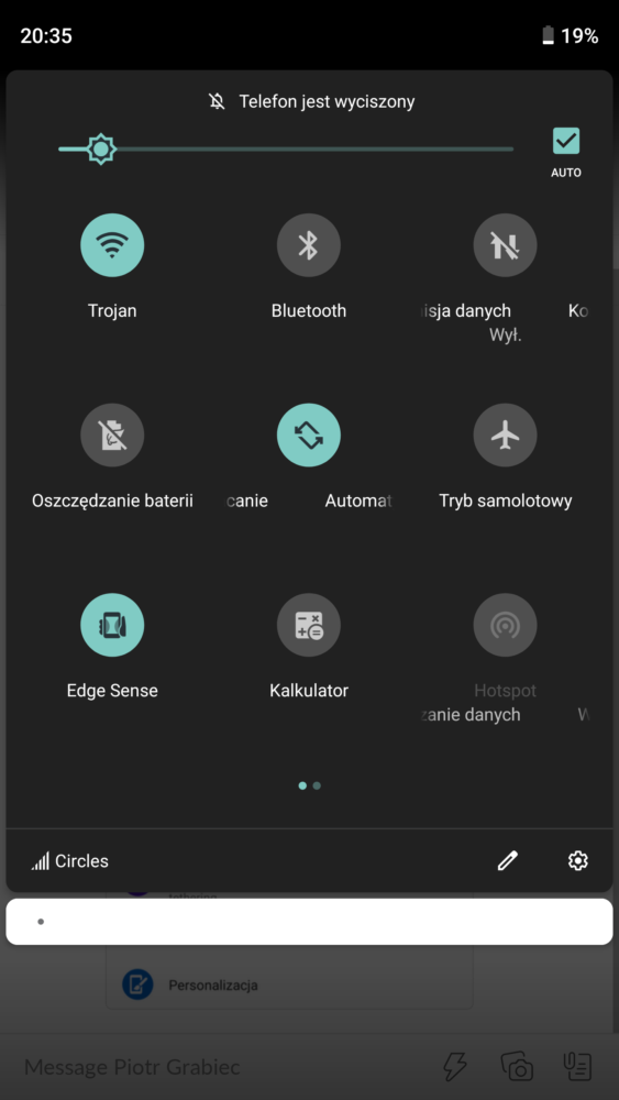 android transfer danych 2 centrum