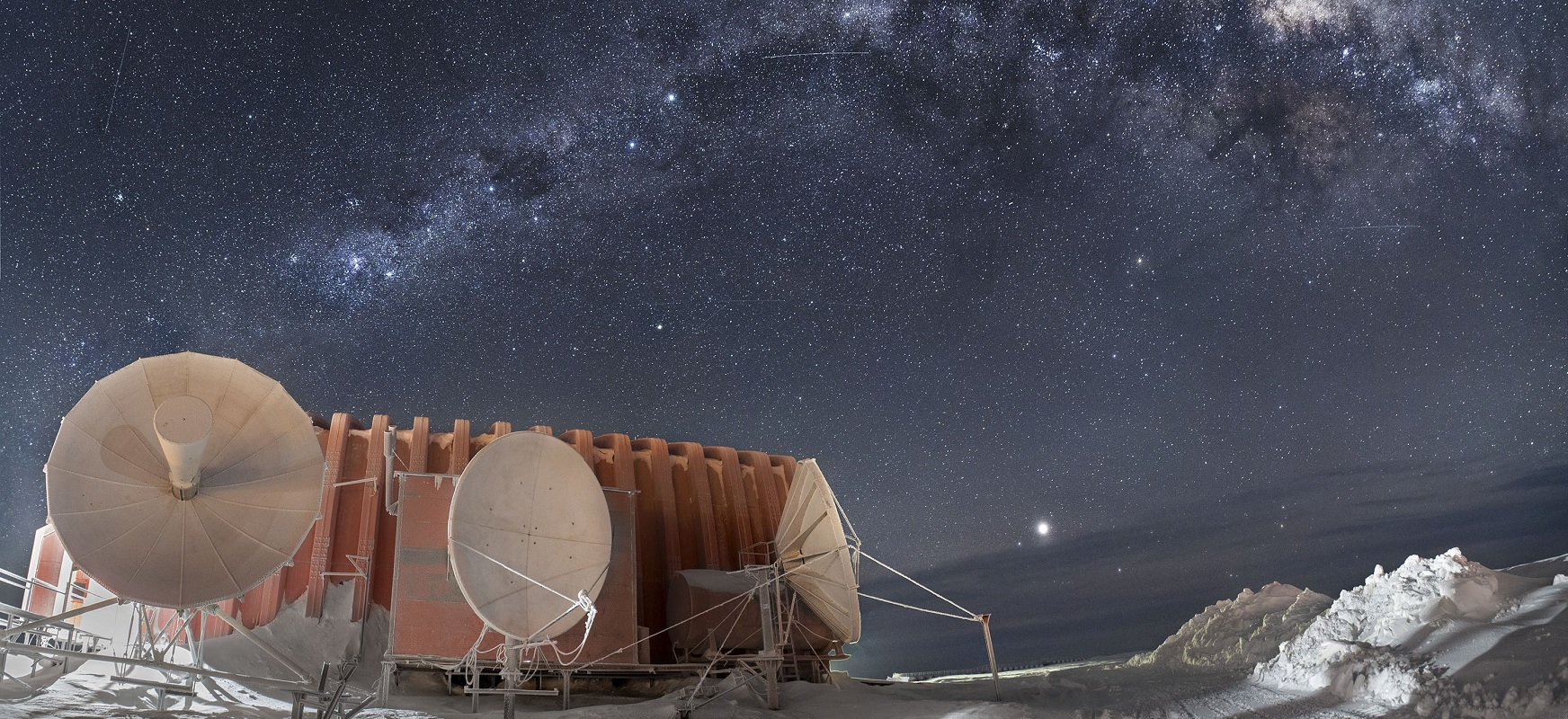 If we built a telescope on top of a tower in Antarctica, we would see things that astronomers never dreamed of