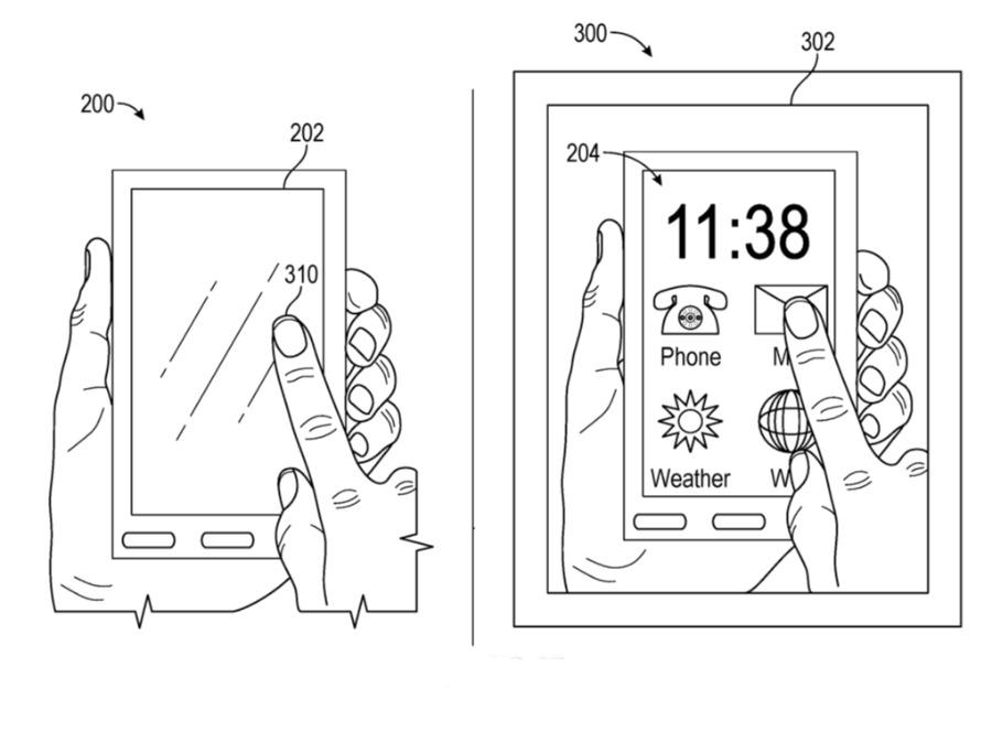 apple glass prywatność
