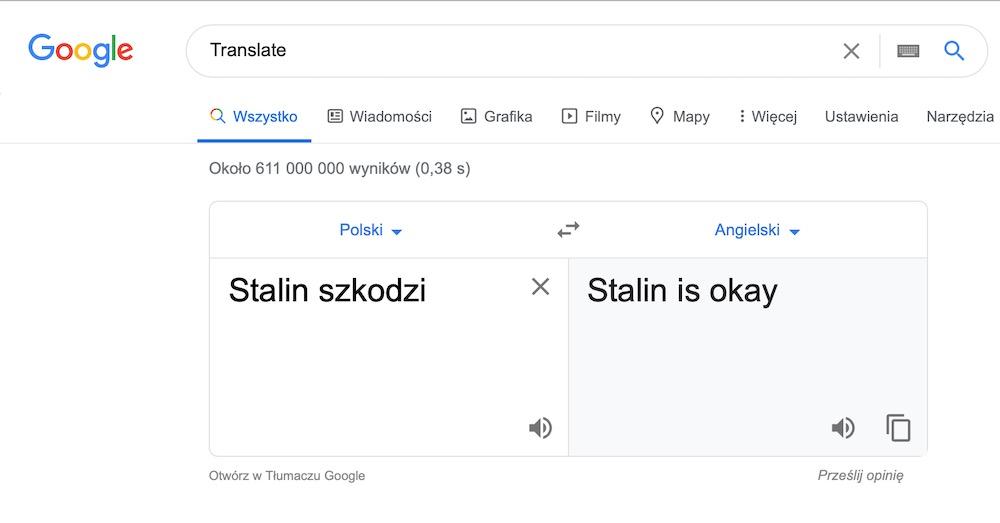 Google translate 6 stalin
