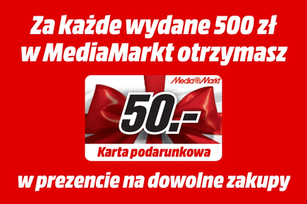 mediamarkt 50 za 500 promocja oferty znizki