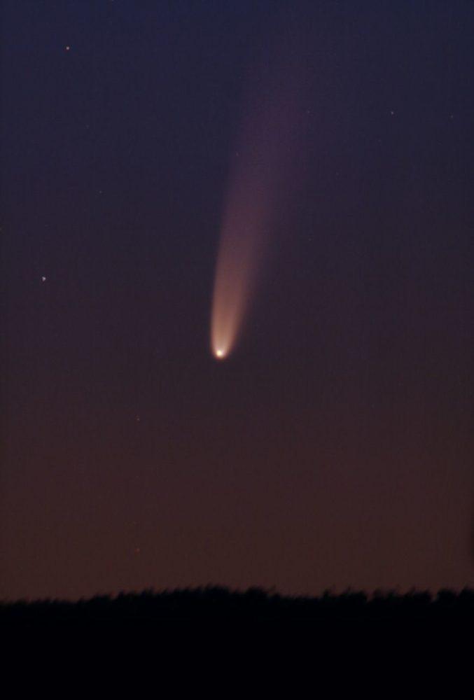 Kometa NEOWISE jak obserwować