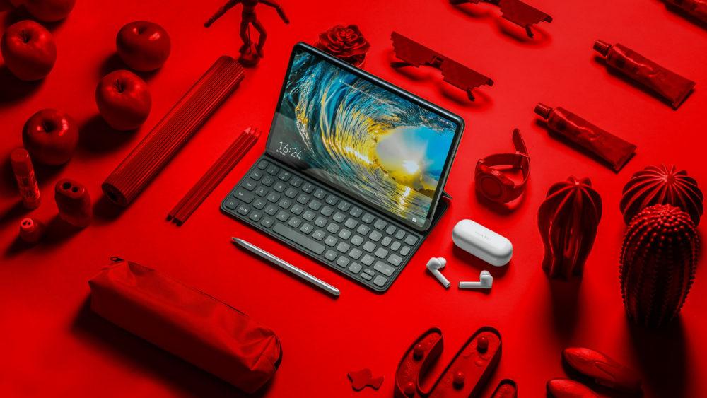 Huawei MatePad Pro i Freebuds 3i 1