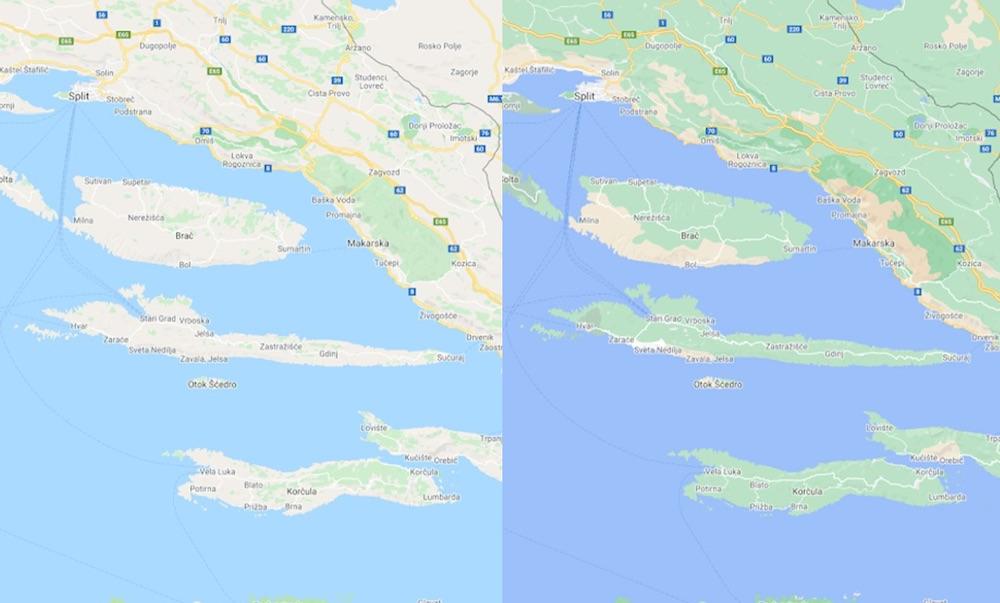 mapy google maps zmiany 1