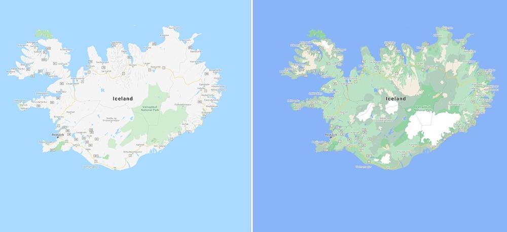 mapy google maps zmiany 2