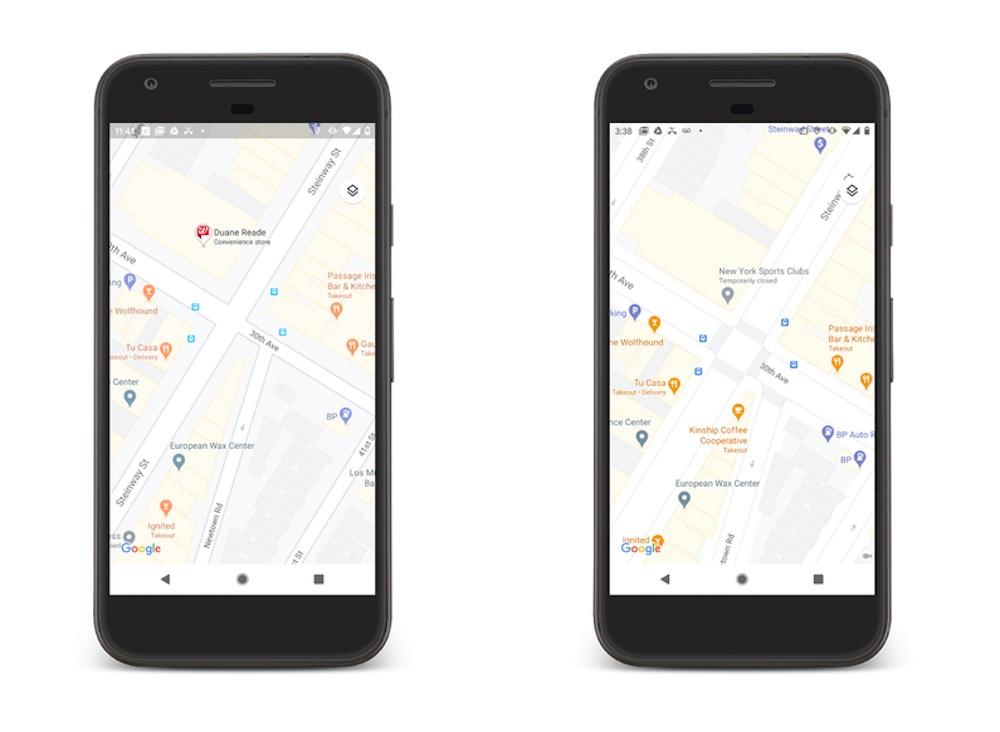 mapy google maps zmiany 3