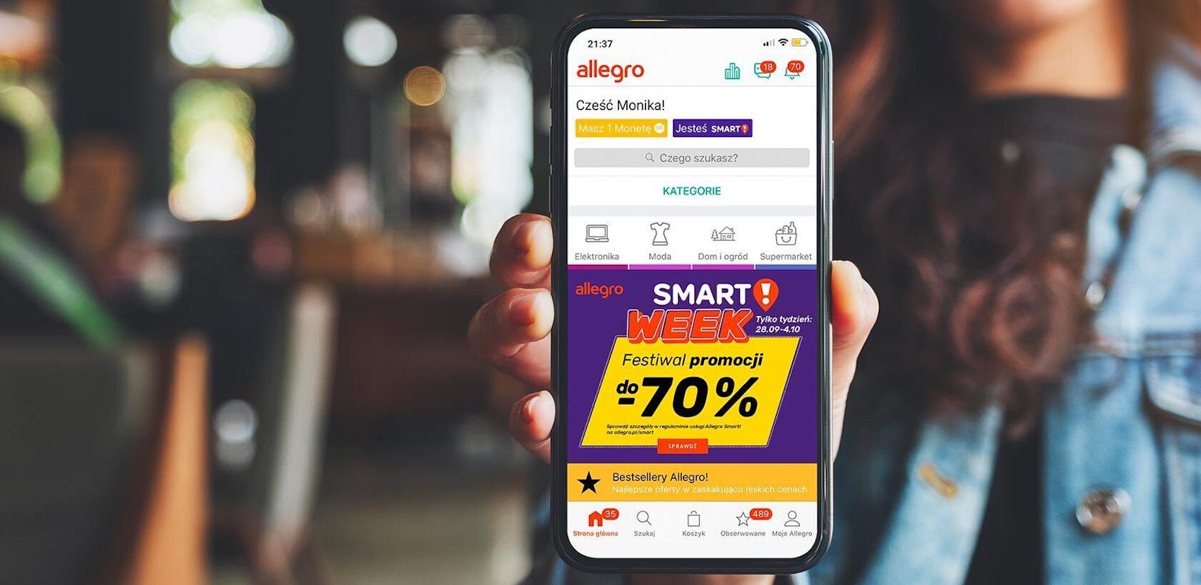Festiwal Zakupow Smart Week Coraz Blizej Sprawdz Co Czeka Na Uzytkownikow Allegro Smart
