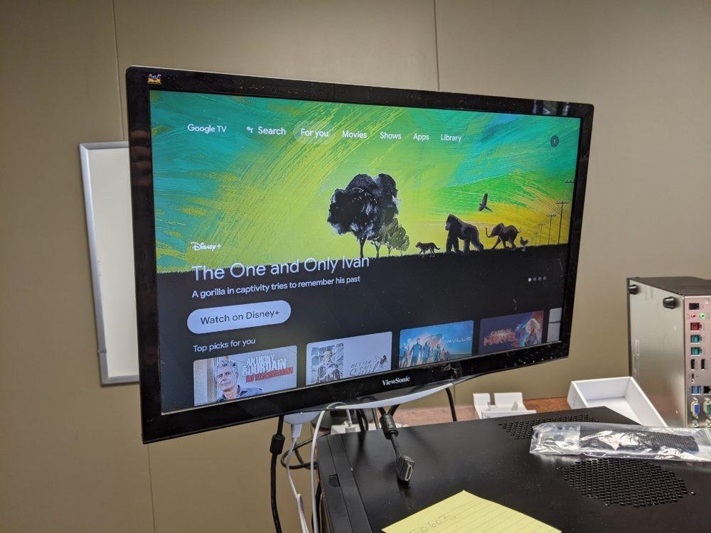 chromecast z google tv 5