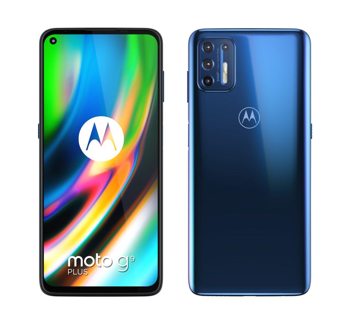 Motorola Moto G9 Plus opinie