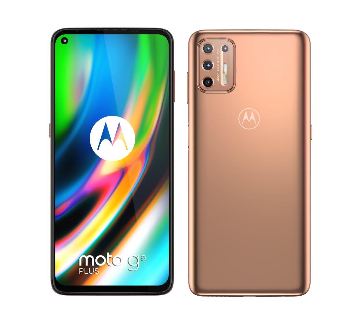 Motorola Moto G9 Plus cena