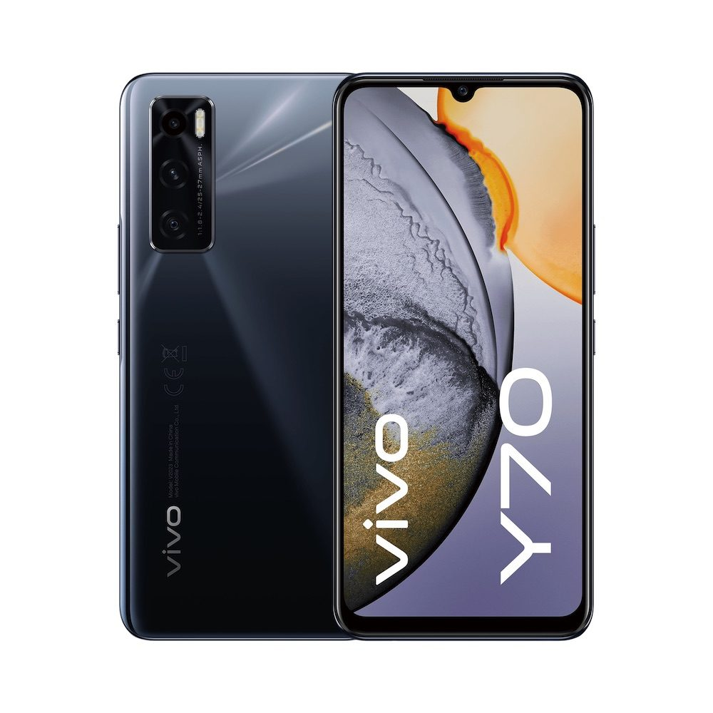 vivo Y70 Gravity Black