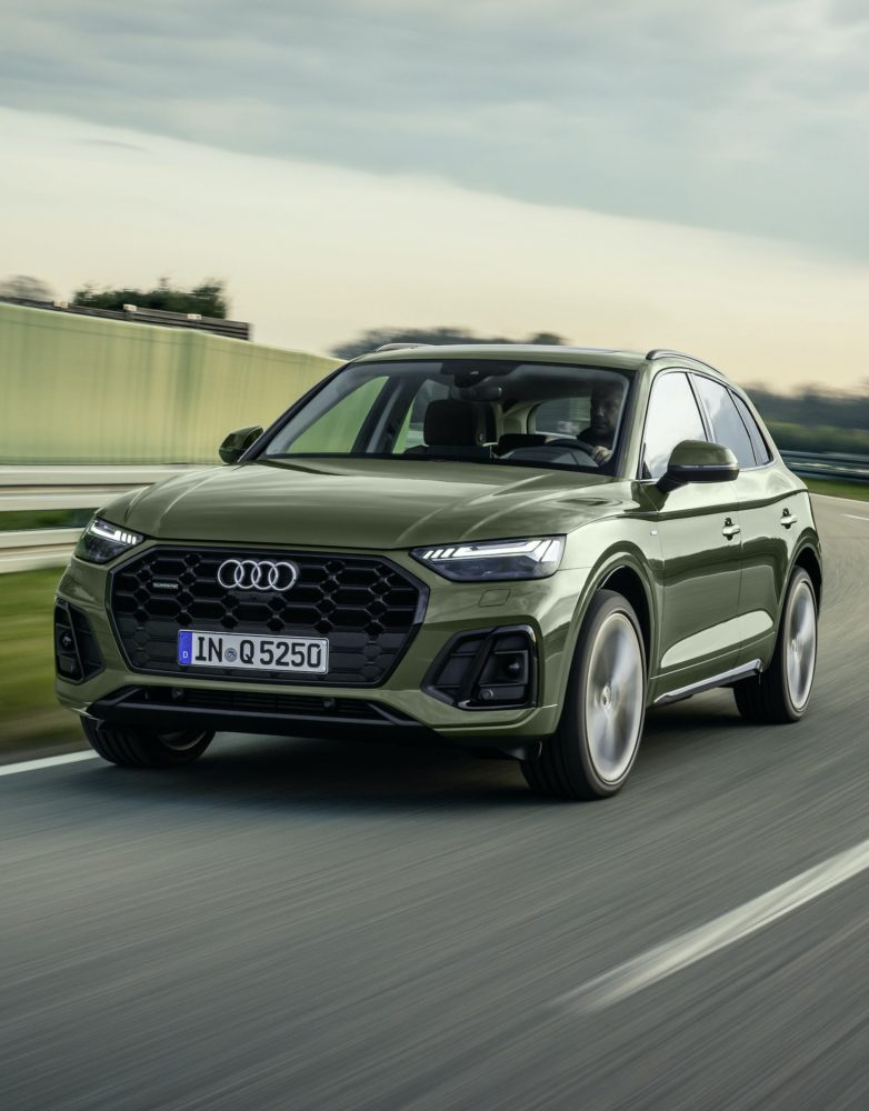 Audi Q5 ze światłami OLED