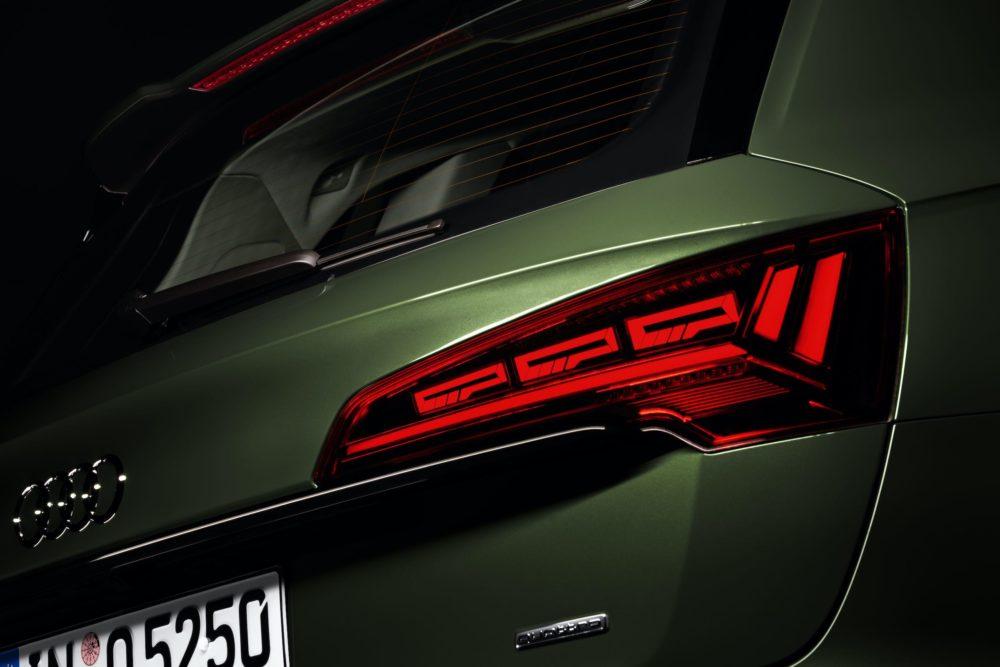 spersonalizowane światła OLED w Audi Q5