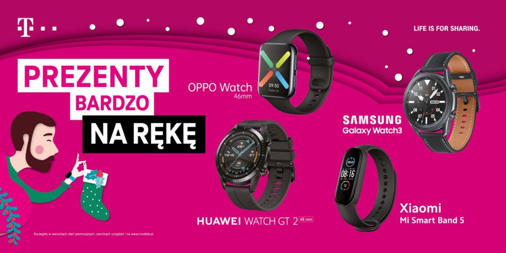 t-mobile swieta 2020 3 smartwatche
