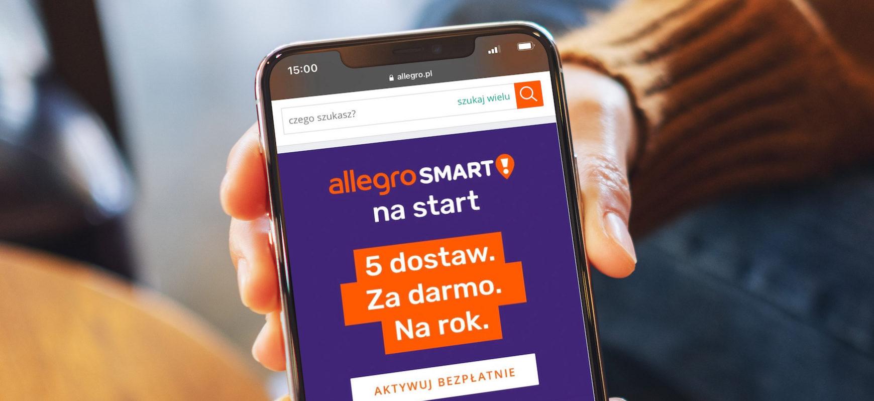 Przetestuj Za Darmo Allegro Smart W Promocji Dostaniesz 5 Darmowych Dostaw