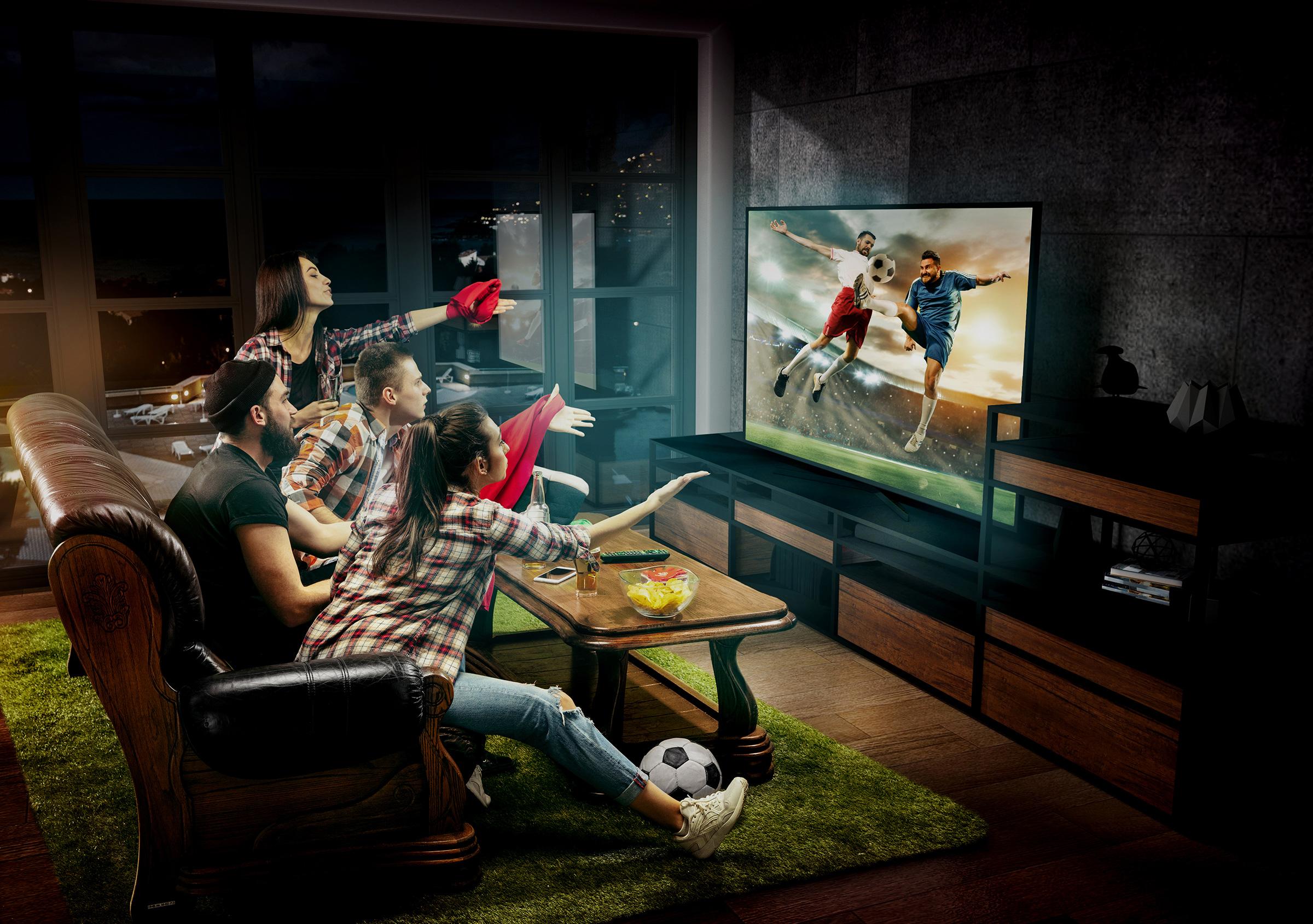Najlepszy telewizor na UEFA Euro 2020. Najciekawsze modele i promocje