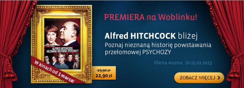 Polska premiera Nieznanej historii Psychozy – poznaj tajniki świata Hitchcocka!