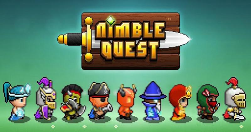 Klasyczny Snake w RPG – sukces murowany! Nimble Quest