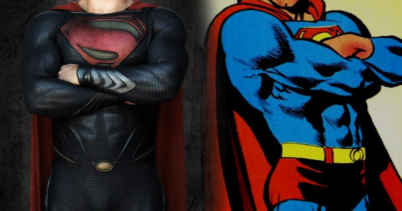 Człowiek ze stali… bez czerwonych majtek – czyli o tym, jak się film ma do komiksu