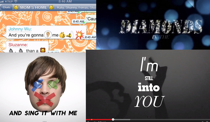 """""""Lyric video"""", czyli jak artyści wzięli przykład z fanów"""