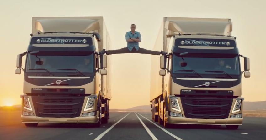 The Epic Split - Volvo pokazuje jak się robi reklamy