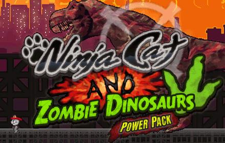 Nowy dodatek Ninja Cat and Zombie Dinosaurs – Power Pack na Wspieram.to