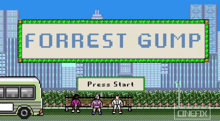8-bitowy Forrest Gump