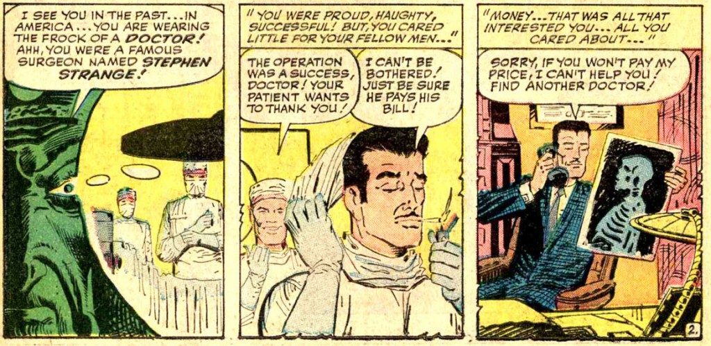 doctor strange strange tales komiks