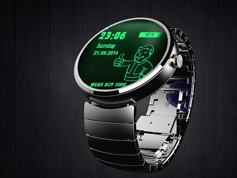 pip boy smartwatch