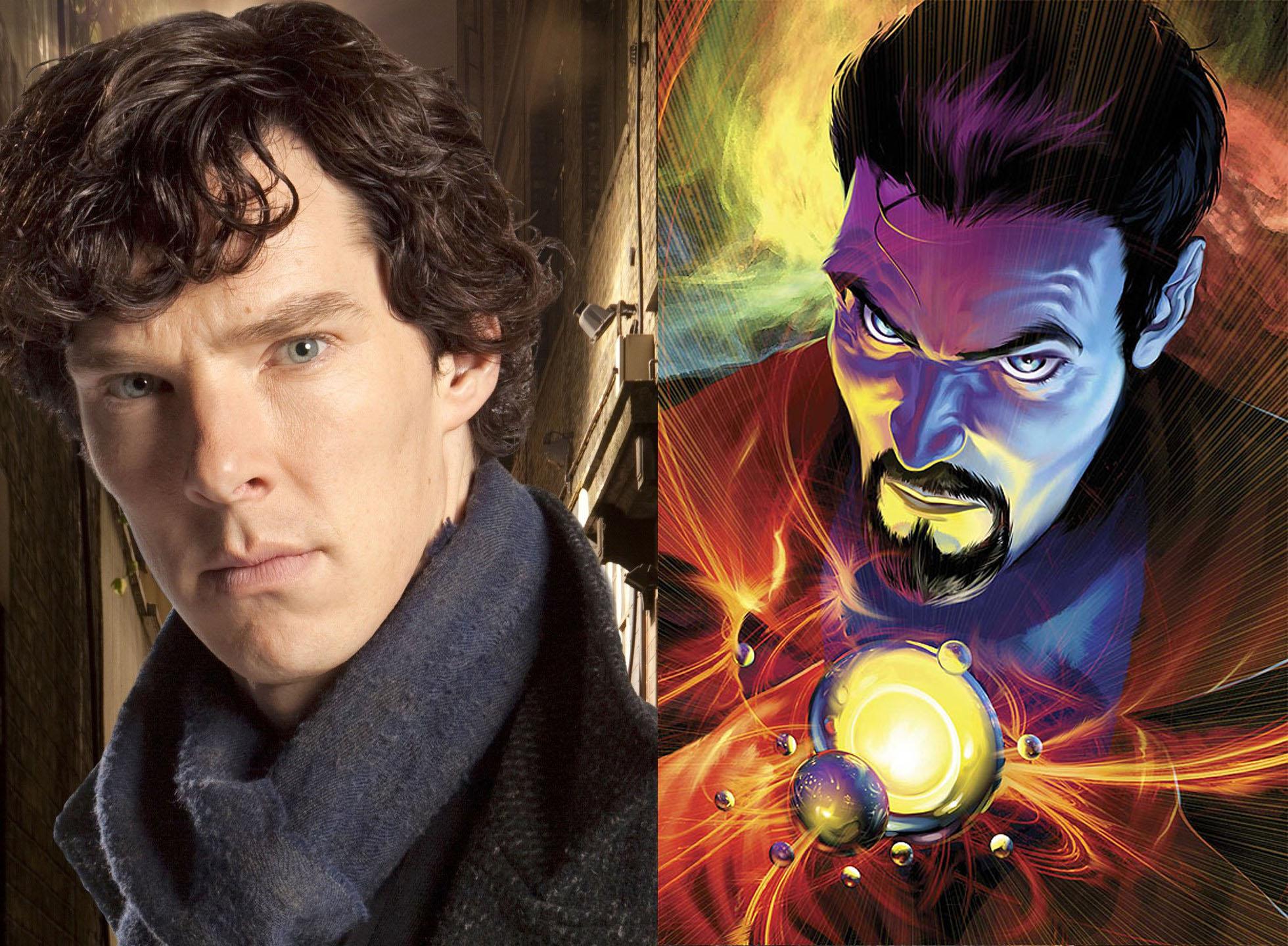 Teraz już oficjalnie. Benedict Cumberbatch został Doctorem Strangem