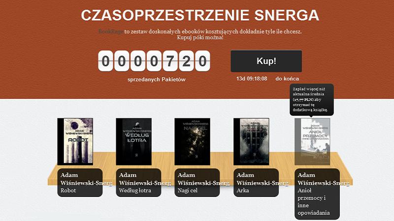 Nowy BookRage w całości poświęcony Adamowi Wiśniewskiemu- Snergowi