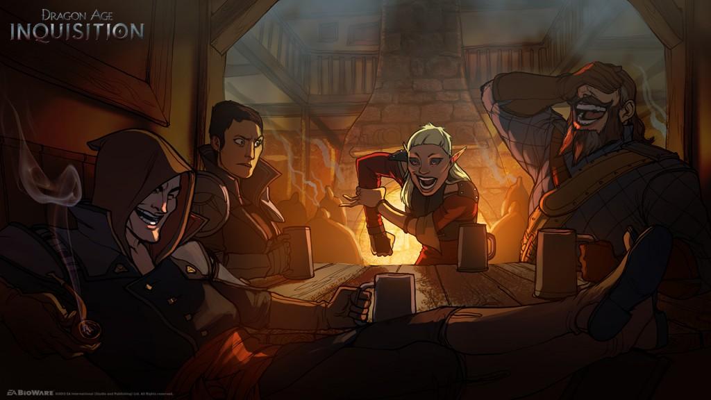 """EA rozdaje muzykę z tawern """"Dragon Age: Inkwizycja"""". Razem z nutami"""