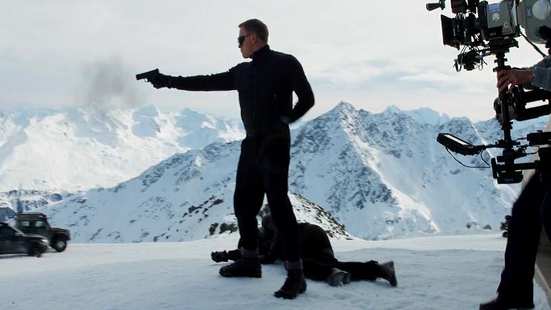 """Jak powstawał """"SPECTRE"""", najnowszy film z Jamesem Bondem? Są już pierwsze materiały z planu!"""
