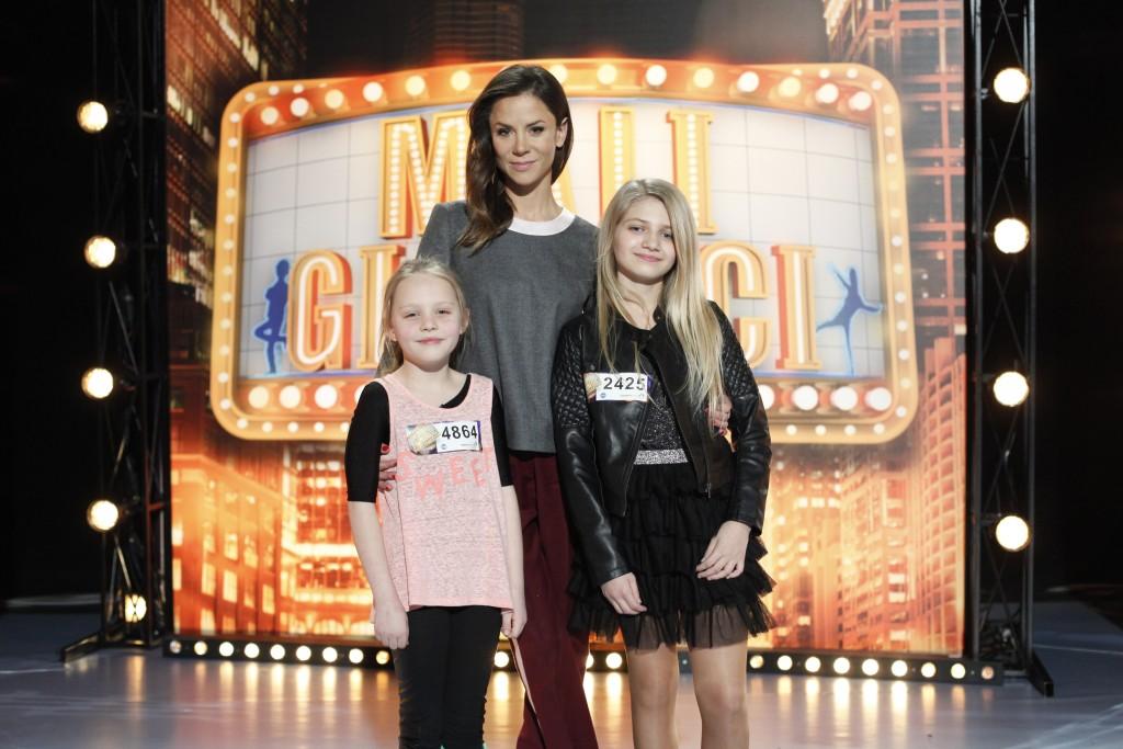 Mali Giganci Casting 01 Natalia Lesz Foto: Grzegorz Press