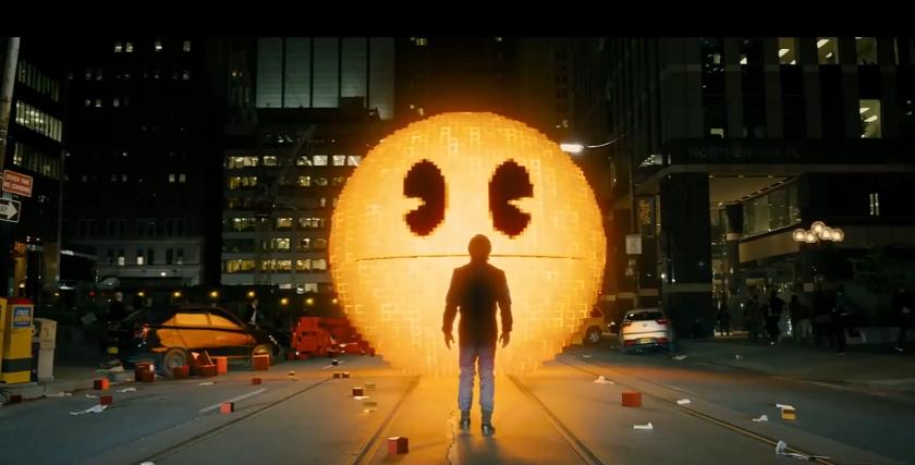 """Pac-Man i Donkey Kong chcą zamienić świat w piksele. Zobacz pierwszy zwiastun filmu """"Pixels"""""""