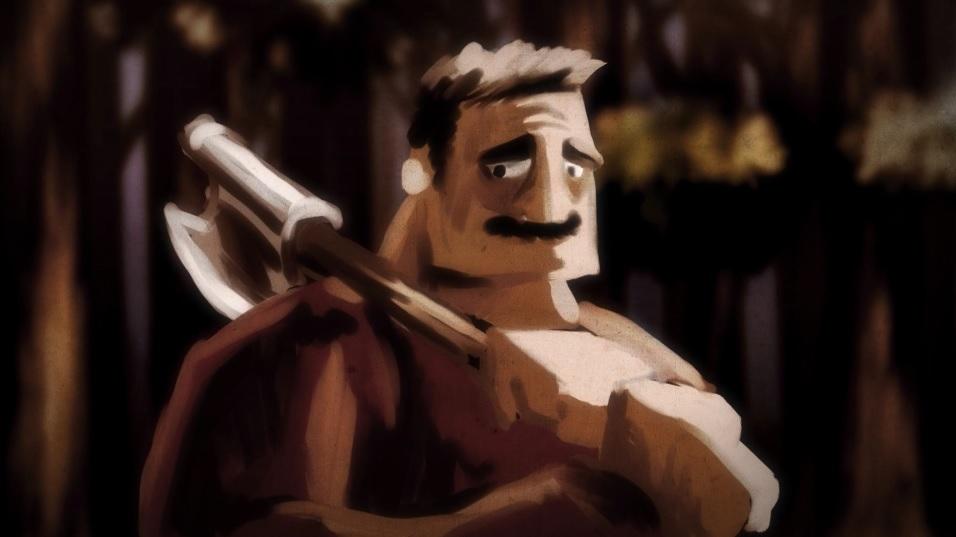 """""""Drwal"""" – przejmująca animacja polskiego twórcy. Zobacz na Vimeo"""