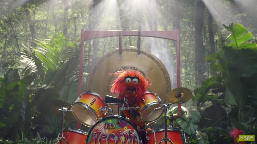 """""""Jungle Boogie"""" w wykonaniu Muppetów? Tak, to jest świetne!"""