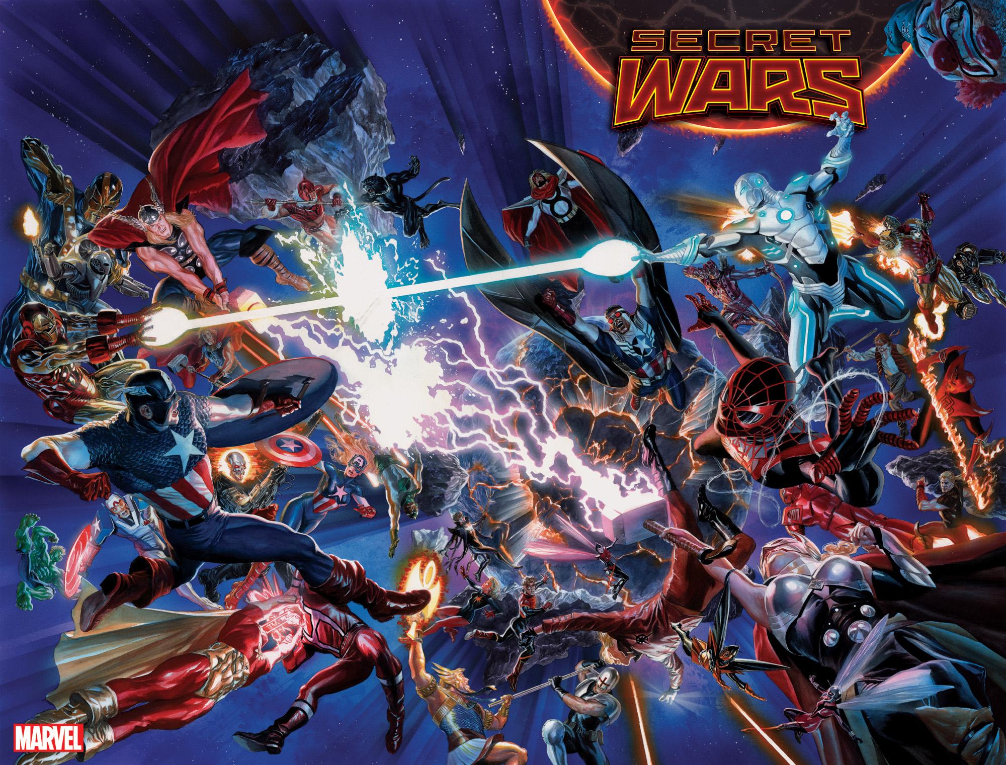 6 najlepszych serii komiksów Marvela w ramach Secret Wars