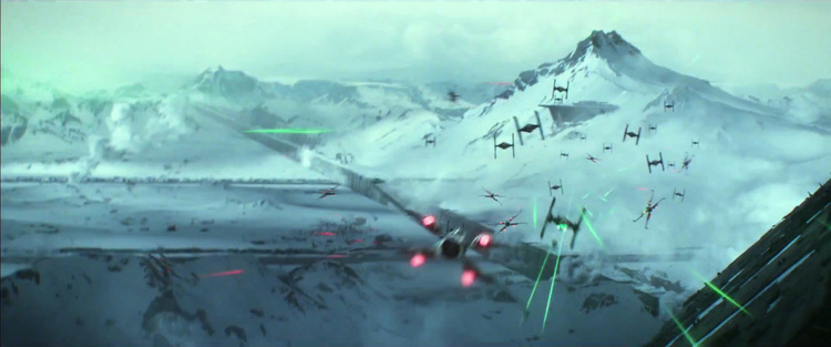 star wars episode VII the force awakens starkiller