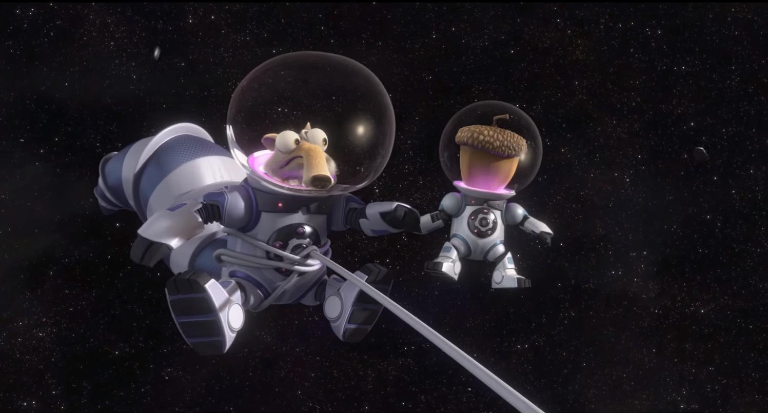 """Wiewiór z """"Epoki Lodowcowej"""" w kosmosie. Zobacz animację """"Cosmic Scrat-tastrophe"""""""