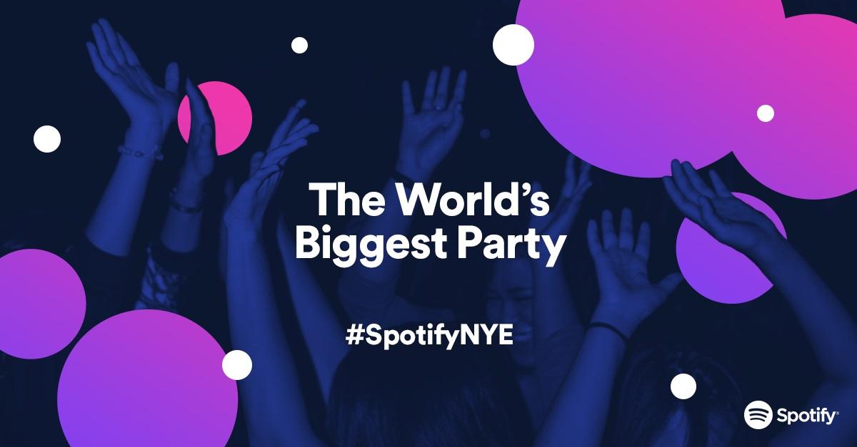 Spotify Party rozkręca się na Sylwestra. Co godzinę posłuchasz nowej playlisty stworzonej przez znanego artystę!